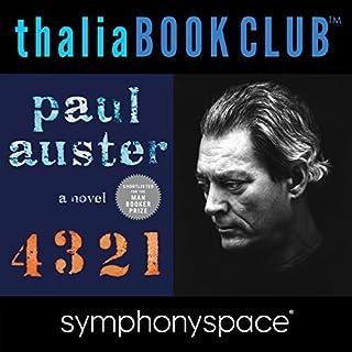 Couverture de Thalia Book Club: Paul Auster, 4, 3, 2, 1