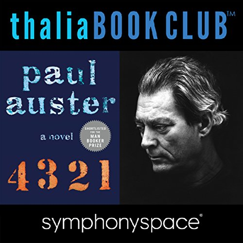 Thalia Book Club: Paul Auster, 4, 3, 2, 1 cover art