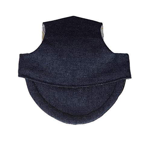 MICHI MICHI-SCCA04-L CAPPELLINO Jeans Happy Biker Cap L Hundehut, Hundekappe