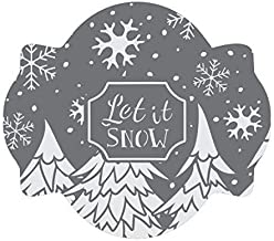 Winter Wonderland Prettier Plaques Cookie Stencil Set by Julia Usher