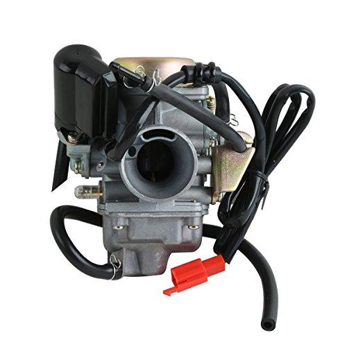 XMT-MOTO Carburetor Carb Fit fits for 125cc 150cc,GY6 125cc 150cc 4 stroke Engine Scooters ATVs Kazuma Baja Kymco Taotao SunL Tank,etc