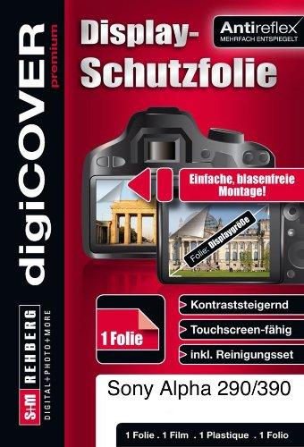 digiCOVER - Pellicola protettiva premium per Sony Alpha 290/390