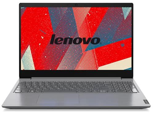 Lenovo V15 Cpu AMD Silver 3020e 2 cœurs à 1,2 GHz, ordinateur portable 15,6' écran HD 1366 x 768 pixels, DDR4 8 Go, SSD 256 Go, webcam, Wi-Fi, Bt, Win 10 Pro, A/V Prêt à l'emploi.