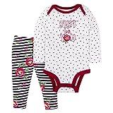 Lamaze Organic Baby Organic Baby/Toddler Girl, Boy, Unisex Outfits, Gift Sets, White, 6 Months