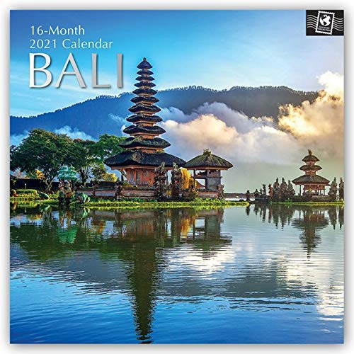 Bali 2021 - 16-Monatskalender: Original The Gifted Stationery Co. Ltd [Mehrsprachig] [Kalender] (Wall-Kalender)