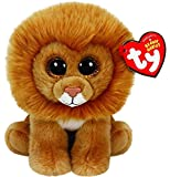 TY Beanie Baby Louie - Lion Glitter Eye Plush 6`` MWMT IN HAND SMALL ^G#fbhre-h4 8rdsf-tg1320624