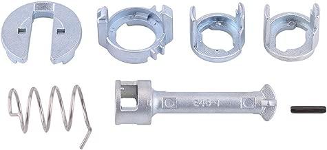 Door Lock Repair Kit, Keenso Front Left Right Door Lock Cylinder Repair Kit for BMW E46 3 Series 323c 325i 325c 328i 330i 330c 330ci 1998-2005