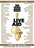 Live Aid - 20 Years Ago Today [Reino Unido] [DVD]