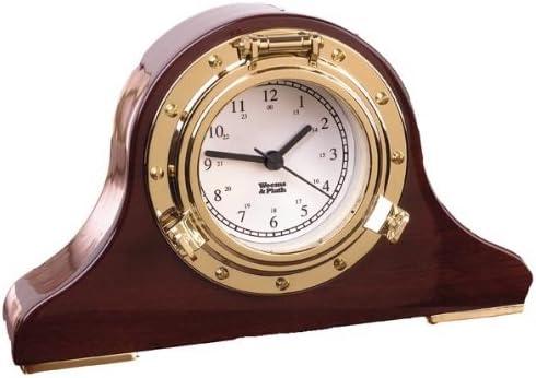 Weems Manufacturer OFFicial shop Plath Max 63% OFF Nautical Clock Tambour