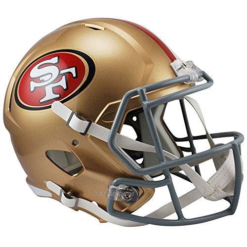 Riddell San Francisco 49ers Producto Oficial NFL Velocidad Casco de tamaño Completo réplica de Camiseta de fútbol