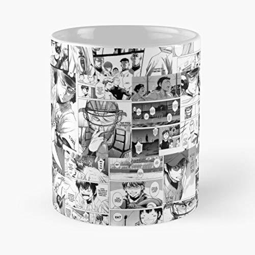 5TheWay No Anime Manga Diamond Daiya Ace of - Best 11 oz Kaffeebecher - Nespresso Tassen Kaffee Motive