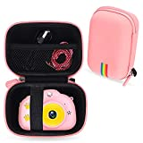 Leayjeen Camera Case Compatible with Rodzon Kids Toys Video Camera, Kids Selfie Camera Digital Video Recorder,Birthday for 3 4 5 6 7 8 Year Old Boys Girls(Case only)