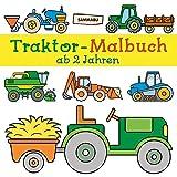 Traktor-Malbuch ab 2 Jahren: Fahrzeuge auf dem Bauernhof zum Ausmalen, Kritzeln und Entdecken - Sammabu Edition