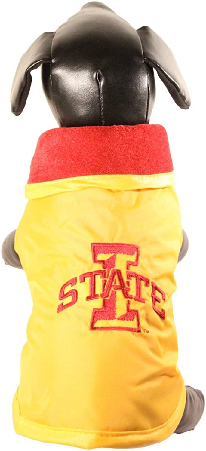 All Star Dogs Iowa State Cyclones All Weather Resistant Predective Dog Outerwear, Small