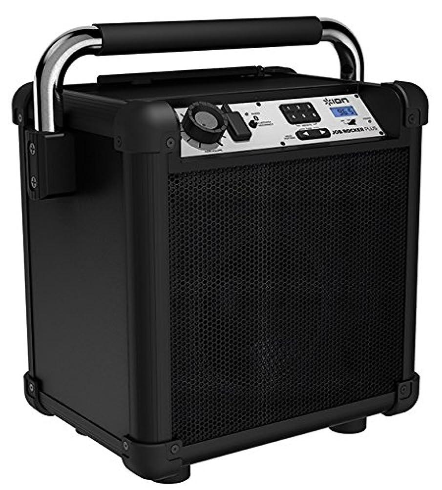 Ion Audio Job Rocker Plus (Black) ION Audio Job Rocker Plus   Portable Heavy-Duty Jobsite Bluetooth Speaker System with AM/FM Radio + Mic Input (Black)