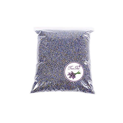 TooGet Fleurs de Lavande Séchées 100% Pures et Naturelles Bourgeons de Lavande Parfumés, Superbe Qualité - 225g