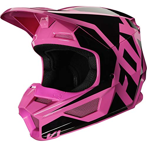 Fox Racing 2020 Youth V1 Helmet - Prix (Large) (Pink)