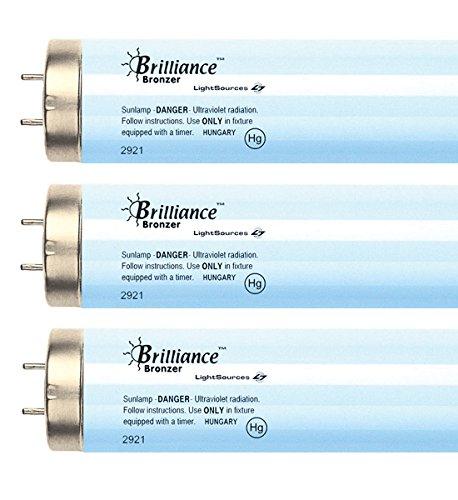 Brilliance Active Bronzer F71 100W-120W 7.0% Bi-pin Tanning Lamp (16)