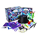 abeec Ultimate Magic Set - Magic Kit with 140+ Tricks for Kids 8+ - Party Games Containing Magic Tricks with Instructions. Magic Wand, Magic Sponge, Cards Games Inclusive