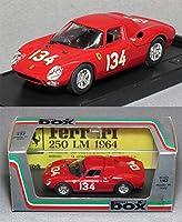 フェラーリ250LM 1964ニュルブルクリンク(No.134) *1/43 スケール *品番8435 *メーカー:MODEL box *01