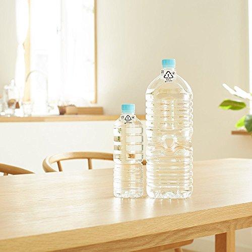 アサヒ飲料おいしい水天然水ラベルレスボトルPET600ml×24本