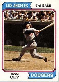 1974 Topps Baseball Card #315 Ron Cey