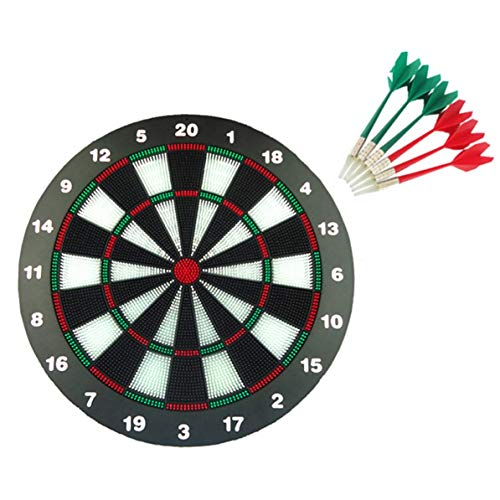Zoll Safety Dart Board, Safety Dart Set Soft Darts Dartboad Soft Tip Safety Darts und Dart Board Tolle Spiele für Kinder Safety Darts
