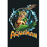 Aquaman Ruler Of The Seas: Notebook Planner - 6x9 inch Daily Planner Journal, To Do List Notebook, Daily Organizer, 114 Pages