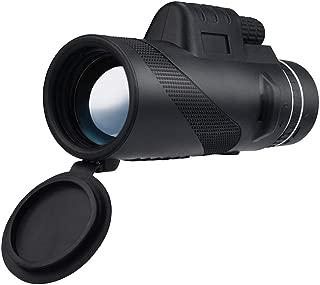 Fescra 40X60 Zoom Optical HD Lens Monocular Telescope+ Tripod+ Clip for Universal Phone