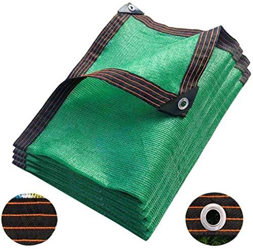 XIGG - Protector solar de 8 pines, tela de protección solar, tela 95% resistente a la tasa de sombreado, malla de espesamiento encriptada para jardinería, patio, suculenta, red de alta resistencia a altas temperaturas, 6X10M/19.68X32.8ft