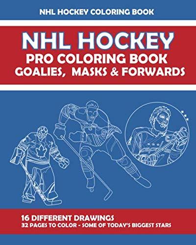 NHL Hockey Pro Coloring Book: 8