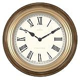 Acctim 22376 Farnham - Reloj de pared con efecto madera