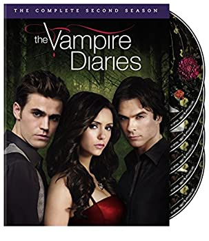 DVD The Vampire Diaries: The Complete Second Season Book