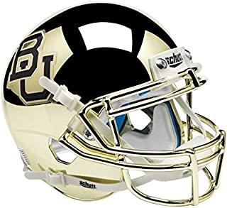 baylor gold chrome mini helmet
