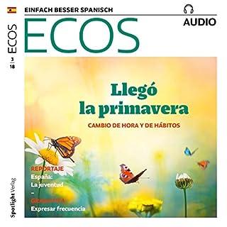 ECOS audio - Primavera: Cambio de hora y de hábitos. 3/2018 Titelbild