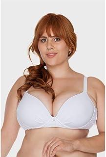 Sutiã Bojo Branco Plus Size