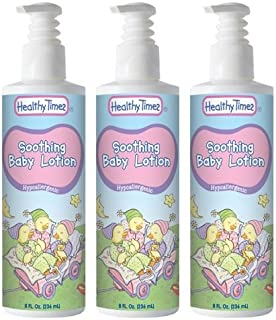 Healthy Times Soothing Baby Lotion, 8 Ounce (3 Count)
