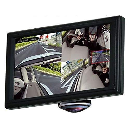 PIXYDAセイワPDR750SV全方位360度撮影GPS搭載5インチ大画面液晶ドライブレコーダーmicroSD32GB付属