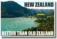 ニュージーランド–Better Then古いZealand–新しい世界旅行ポスター