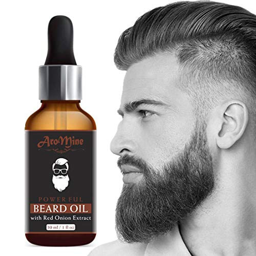 AroMine New Improved Onion Beard Growth Oil & Moustache Oil-30ml