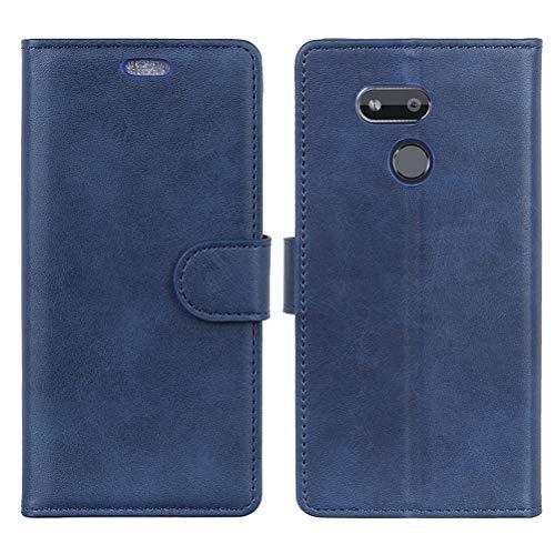 ZDCASE HTC Desire 12s Hülle,PU Leder Magnetisch Handyhülle Flip Hülle Cover mit Standfunktion Wallet Schutzhülle Lederhülle für HTC Desire 12s 5.7