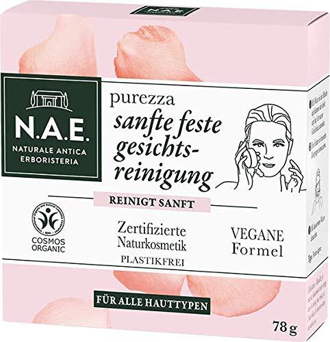 N.A.E. Purezza Sanfte Feste Gesichtsreinigung 1er Pack(1 x 78 g)