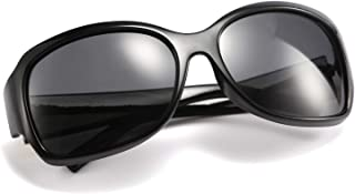 نظارات شمسية نسائية كلاسيكية كبيرة مستقطبة من FEISEDY نظارات شمسية مربعة الشكل B2504