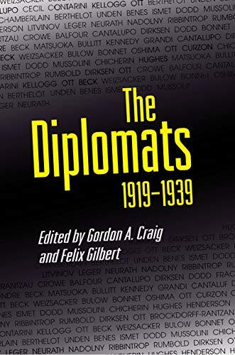 The Diplomats, 1919–1939 (English Edition)