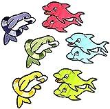 i-Patch–Parches–0149–Delfín–Pescado–Dolphin–Animales–Zoo–Applikation–aufbügler–Parches–Parche–Pegatinas–Badges–Plancha de–Niedlich–Salvavidas–Par–Niña–Joven