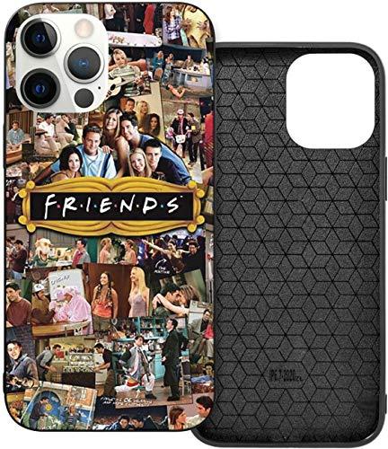 FRIEN-DS TV-Poster iPhone 12 Hülle, TPU Vollständige Schutzhülle, langlebig und stark für iPhone 12/12 Pro/12 Mini/12 Pro Max