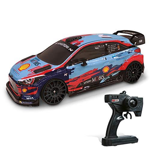 Mondo Motors - Hyundai i20 WRC - modello in scala 1:10 - fino a 20 km/h di velocità - auto giocattolo per bambini - 63667
