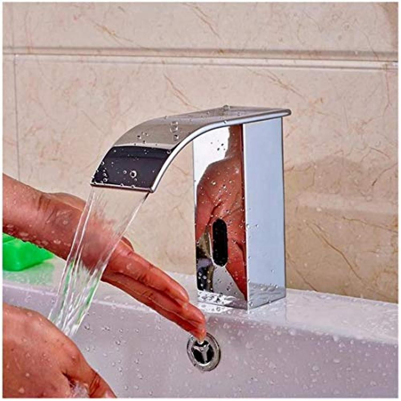 Wasserhahn Küche Bad Garten Waschtisch-Mischbatterie Chrom Wasserfall Bad Wasserhahn Ctzl1862