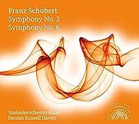 シューベルト:交響曲 第2番&第6番