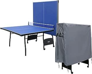 Pingpong Mesa para Interior Exterior Tamaño Completo Mesa de Tenis Plegable 4 Tablas 274 * 152 * 76 cm